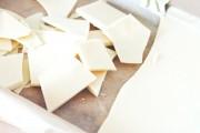 طريقة عمل الشوكولاته البيضاء في المنزل