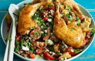 طريقة عمل دجاج بالاوريغانو