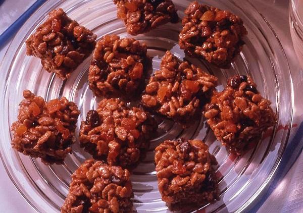 رايس كرسبي بالشوكولاته