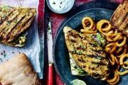 طريقة عمل ساندويش الدجاج المشوي