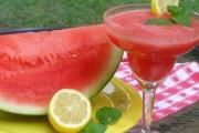 طريقة عمل عصير البطيخ الاحمر بالنعناع