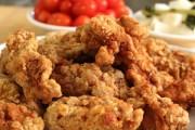 طريقة عمل الدجاج المقلي بالطحين