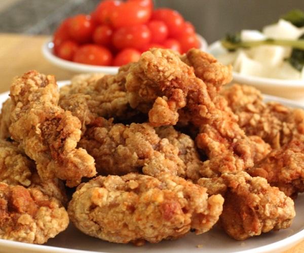 الدجاج المقلي بالطحين