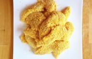 طريقة عمل الدجاج بدقيق الذرة