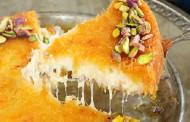 طريقة عمل الكنافة الخشنة بالجبنة