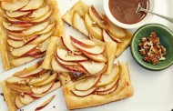 طريقة عمل تارت التفاح بالكراميل
