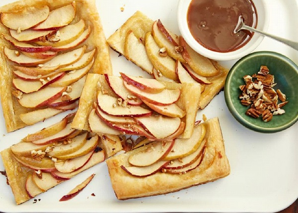 تارت التفاح بالكراميل