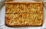طريقة عمل فطيرة التفاح سهله وسريعه