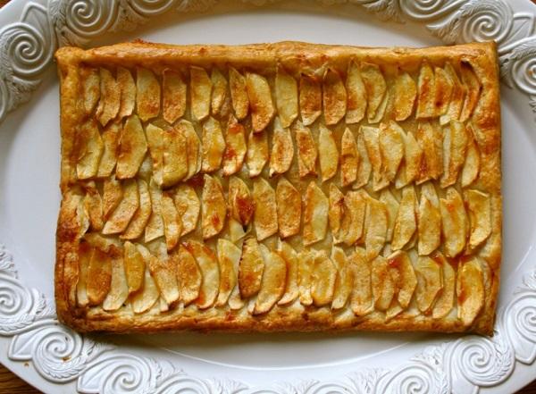 فطيرة التفاح سهله وسريعه