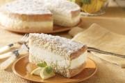 طريقة عمل كيكة الليمون الايطالية بالكريمة