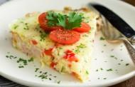 طريقة عمل اومليت البيض بالجبن والخضار