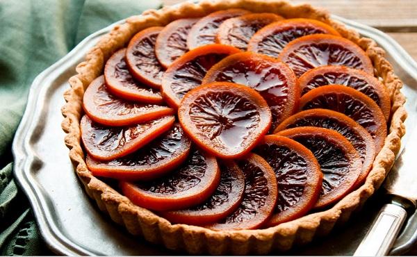 تارت البرتقال
