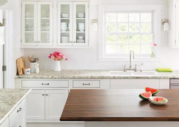 تنظيف رخام المطبخ من البقع