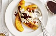 طريقة عمل حلوى الموز الباردة