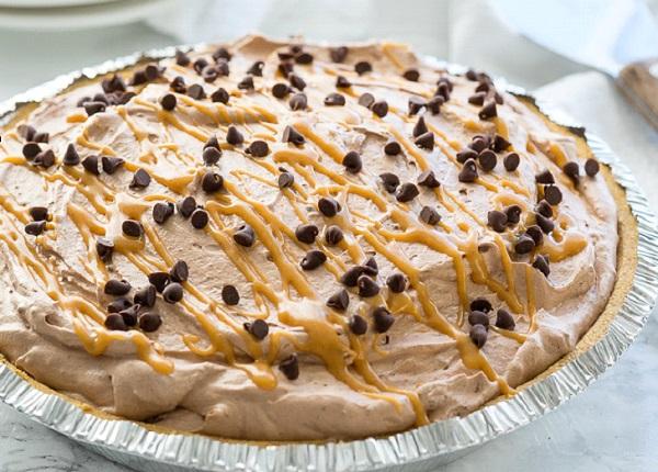 فطيرة موس الشوكولاتة