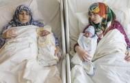 اغرب حالة ولادة في العالم ام و ابنتها يلدان في نفس اللحظة