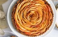 طريقة عمل تارت التفاح بالبسكويت