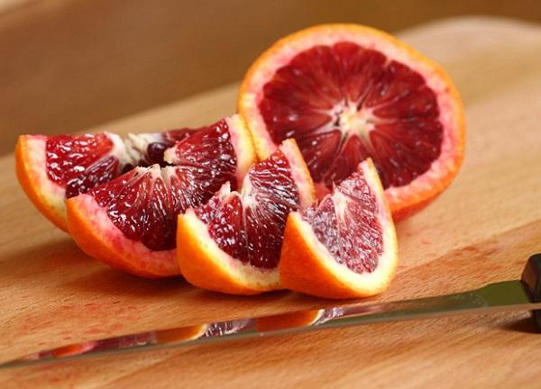 فوائد البرتقال الاحمر