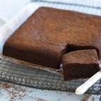 كيكة الشوكولاته الاسفنجية بدون زبدة