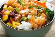 طريقة عمل الأرز الصيني بالجمبري والخضار