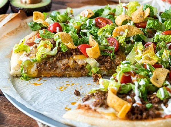 بيتزا التاكو المكسيكية