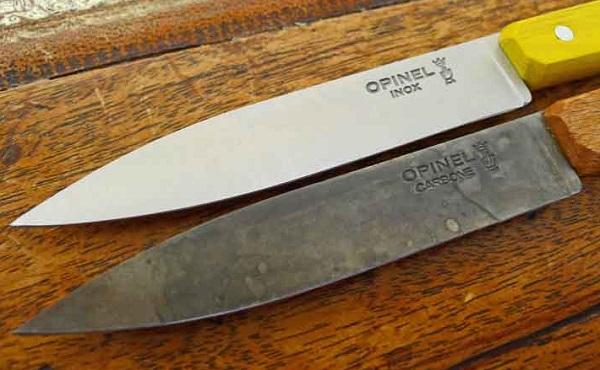 تنظيف السكين من الصدا