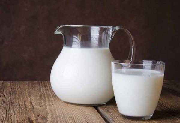 حفظ اللبن الحليب فى الفريزر