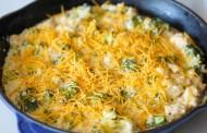 طريقة عمل البروكلي بالدجاج والجبن