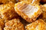طريقة عمل دجاج مقرمش بالفرن بفتات البسكويت