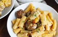 طريقة عمل مكرونة بكرات اللحم الايطالية
