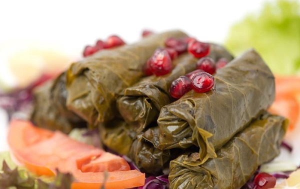 طريقة عمل يالنجي ورق العنب على الطريقة السورية