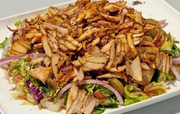 وصفات شاورما الدجاج بالصور