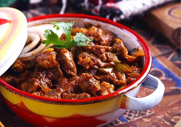 اللحم المقلقل الباكستاني