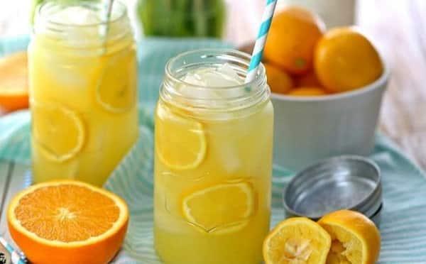 فوائد عصير البرتقال والليمون للتخسيس