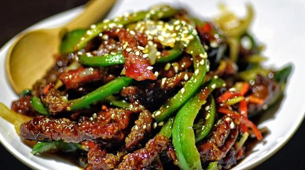 لحم سيشوان الصيني