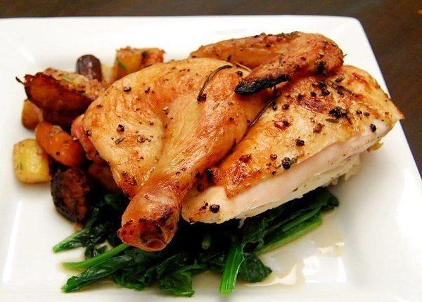 طريقة عمل دجاج مغربي محمر