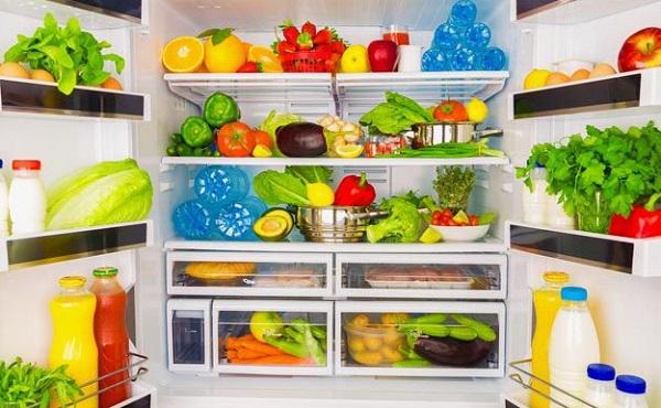 ترتيب الثلاجة والفريزر