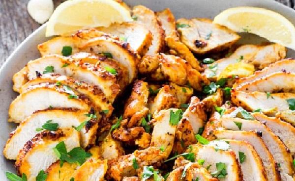 صينية شاورما الدجاج بالبطاطس