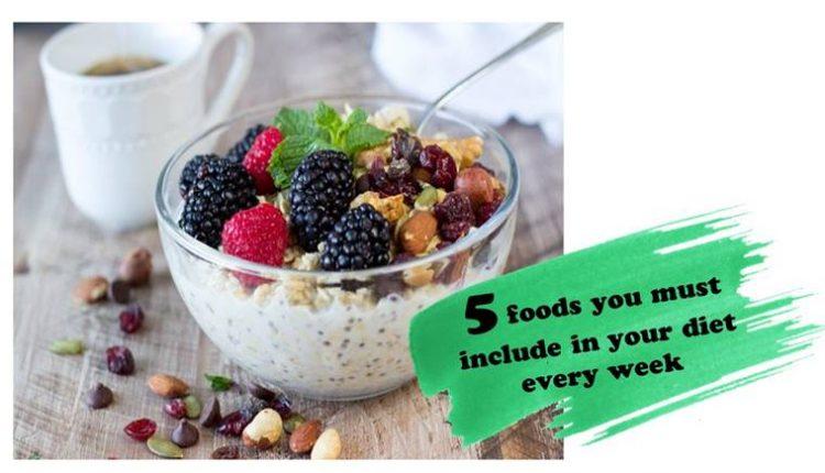 نظام غذائي صحي متكامل يحتاج الى هذه الاطعمة