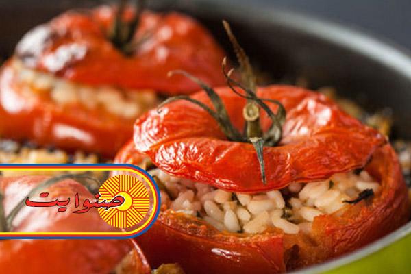طريقة عمل الطماطم المحشية بالارز