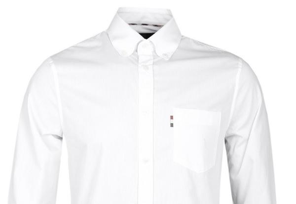 طريقة تنظيف ياقة القميص الابيض