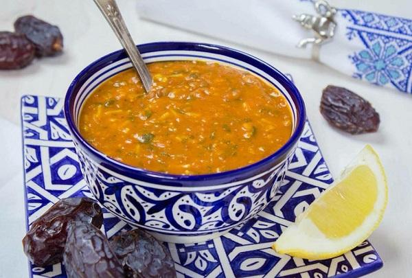 الحريرة المغربية بدون لحم