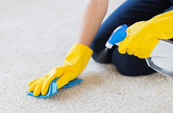 تنظيف السجاد بدون غسيل