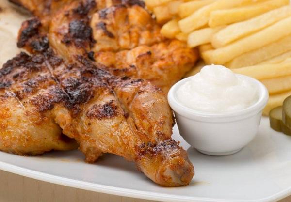 طريقة عمل دجاج على الفحم مثل المطاعم