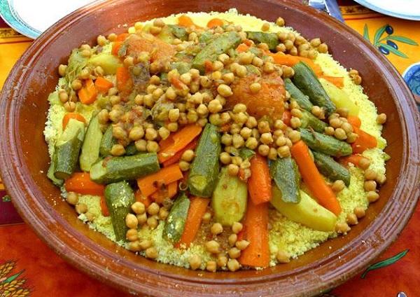 طاجين الدجاج المغربي