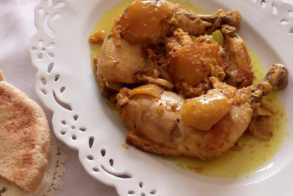 طريقة تحضير طنجية مراكشية بالدجاج