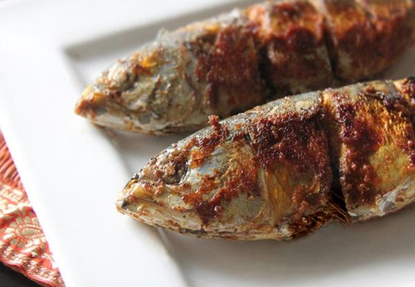 السمك الماكريل المقلي