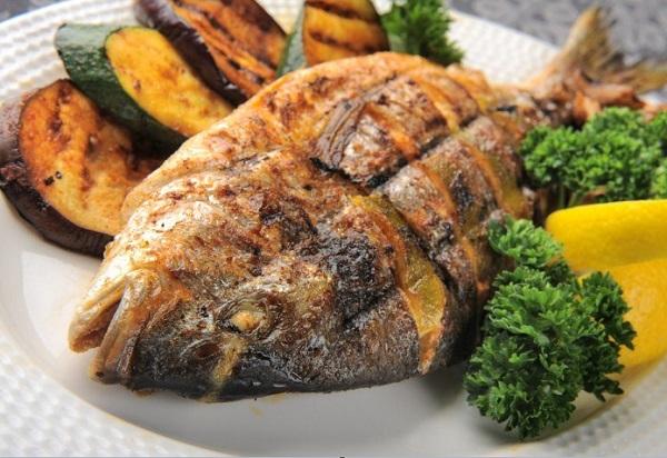 سمك زبيدي مشوي