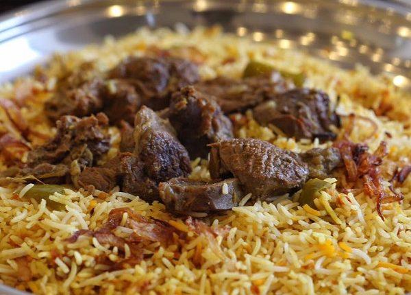 طريقة عمل الرز البخاري باللحم