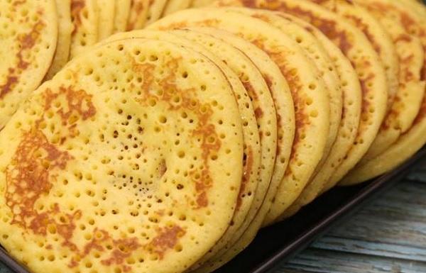 خبز الجباب بدون بيض